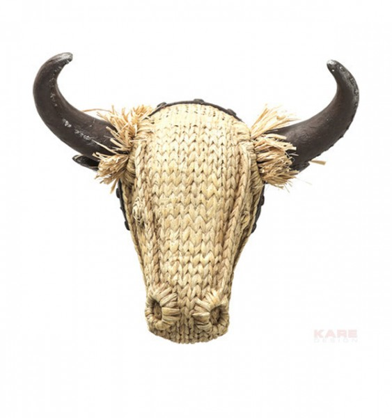 "Deko Kopf ""Bull Staw"""