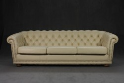 Ledersofa Chesterfield