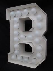 """Leuchtbuchstabe """"B"""""""