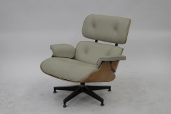Eames Lounge Chair, Vitra (weiß)