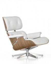 Eames Lounge Chair, Vitra (weiß)