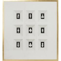 Deko Rahmen 'Ancient Art Nove'