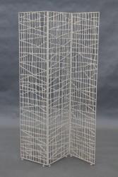 Paravent, Gitterstruktur