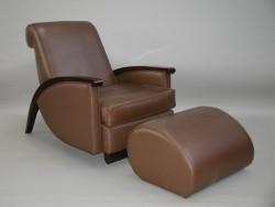 "Fernsehsessel ""Jacques- Emile Ruhlmann"" - Art Deco"