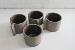 """Tassen-Set 4'er """"Ciment"""""""