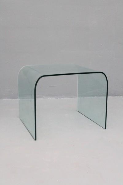 Beistelltisch / Couchtisch aus Glas