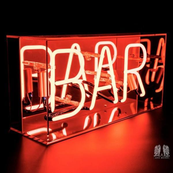 'Bar', Neonschrift