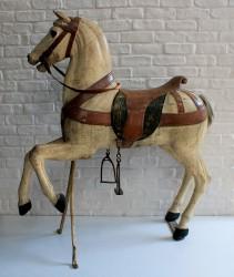Antikes Schaukelpferd, um 1840
