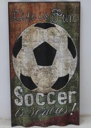 """Wandbild """"Soccer"""""""