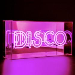 'Disco', Neonschrift