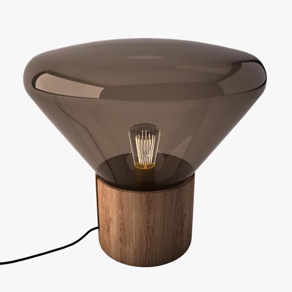 """Tisch- Bodenlampe """"Wood 02"""""""