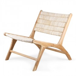 Apaca Teak Lounge Chair