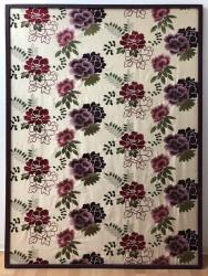 Wandbild Blumenmuster